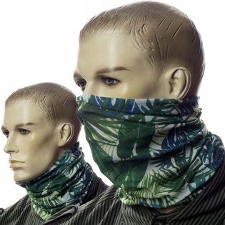 Maska bandana chusta na twarz głowę buff