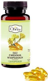 Olvita Olej Z Wiesiołka 120 Kaps.
