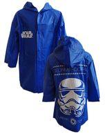 Płaszcz przeciwdeszczowy Star Wars (5902605142756 Blue 122/128)