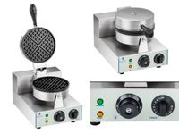 Gofrownica - 1300 W - okrągła Royal Catering RCWM-1300-R