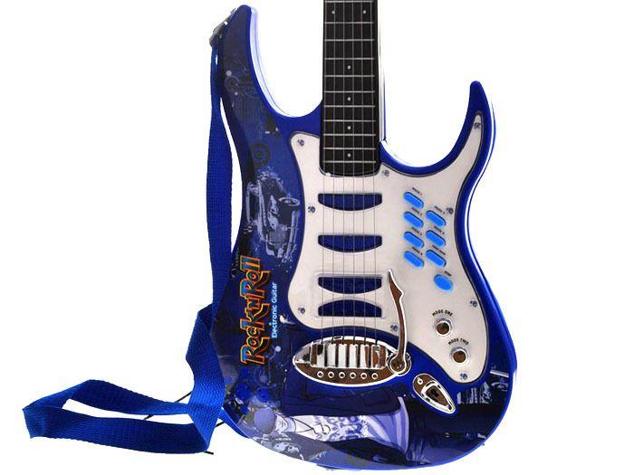 Gitara elektryczna dla dzieci Mikrofon Wzmacniacz IN0018 zdjęcie 4