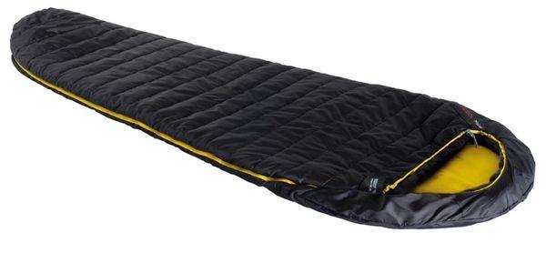 Śpiwór High Peak Pak 1000 (225x80x50cm) antracytowo/żółty L-zip 23311 lewy
