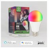 ŻARÓWKA SMART LED WI-FI KOLOROWA RGBW 8W E27 3000K