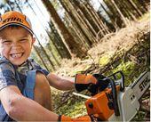 Zabawka PIŁA PILARKA STIHL Dla Dziecka Na Baterie zdjęcie 4