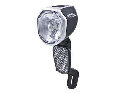 Lampka przednia SPANNINGA KENDO+ XDO 30 luxów/120 lumenów pod dynamo + kabel 55cm