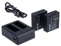 Ładowarka podwójna SJCAM +2x Bateria SJ4000 SJ5000 M10
