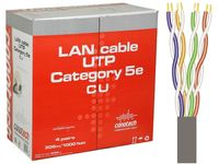 Kabel UTP LAN 4x2x0,51 5e CU na metry Conotech
