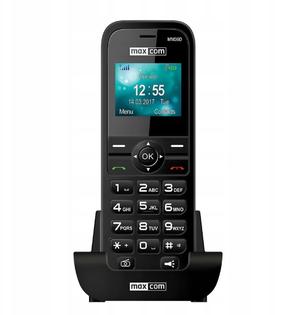TELEFON STACJONARNY NA KARTĘ SIM MAXCOM MM36D