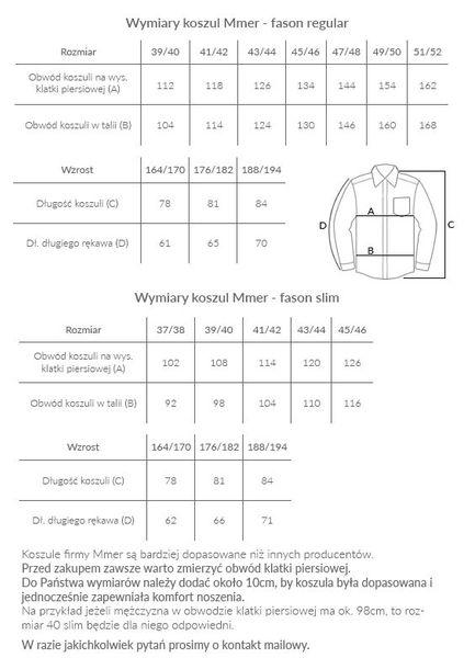 Biała koszula w granatowe żaglówki 527 Rozmiar koszuli i fason - Wybierz rozmiar zdjęcie 3