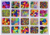 Kolorowy Zestaw Koralików Do Nawlekania Biżuteria