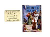 Biblia dla Dzieci Chrzest Komunia prezent GRAWER
