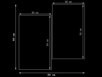 60x60cm Zegar Niebieskie kosmiczne kwiaty - Jakub Banaś obraz druk podobrazie drewno dekoracja ścian kwadrat