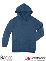 Bluza z kapturem dla mężczyzn i kobiet SST4200 NAV - L