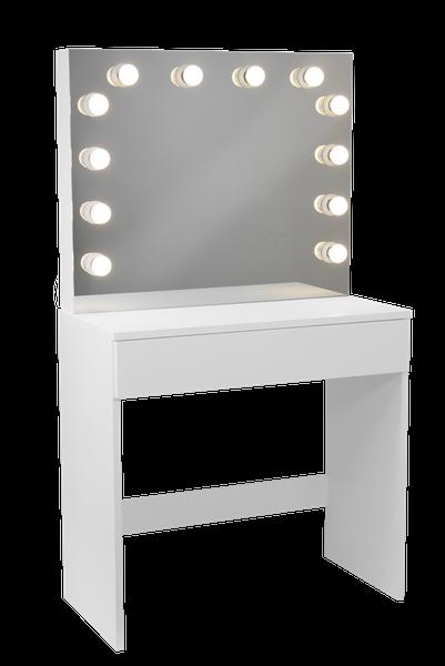 Toaletka Do Makijażu Wizażu Oświetlenie W Lustrze