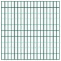 Panele ogrodzeniowe 2D - 2008x2030mm 26m Zielone VidaXL