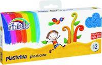 Plastelina 12 kolorów FIORELLO