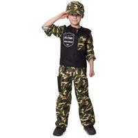 STRÓJ dziecka ZOŁNIERZA żołnierz mundur 134-152 cm