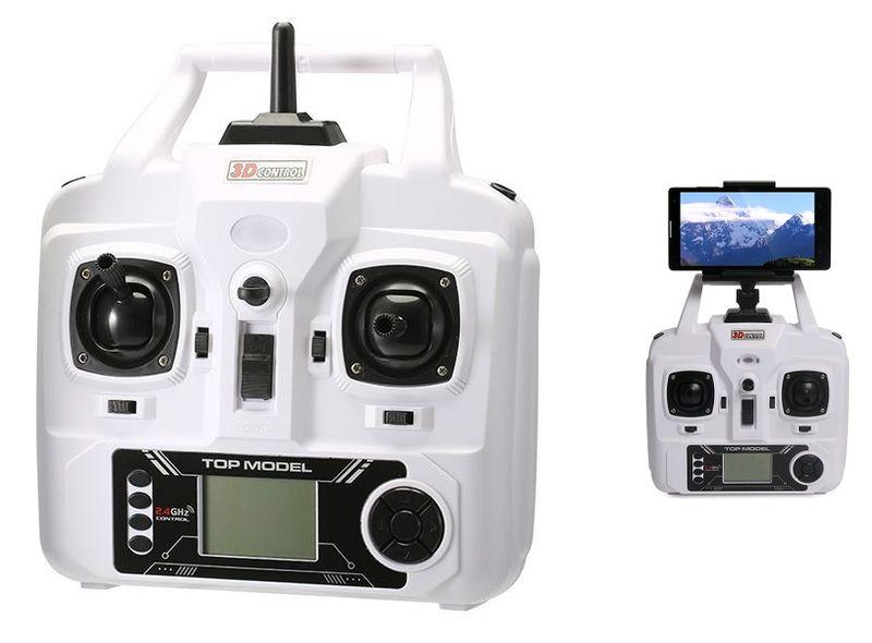 DRON TYPHON X15 z Kamerą WiFi na telefon 4000mAh (2xAku) Z184Z zdjęcie 10