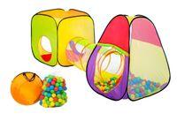 Namiot Kojec suchy Basen dla dzieci + 200 Piłek Z343