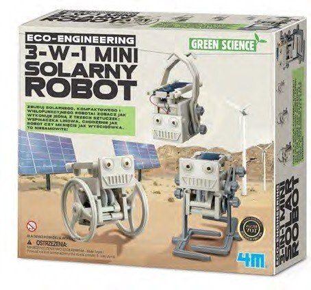 4m Mini solarny robot 3-w-1 zdjęcie 1