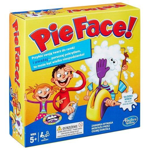 Gra Ciastem w Twarz B7063 Pie Face HASBRO zdjęcie 1