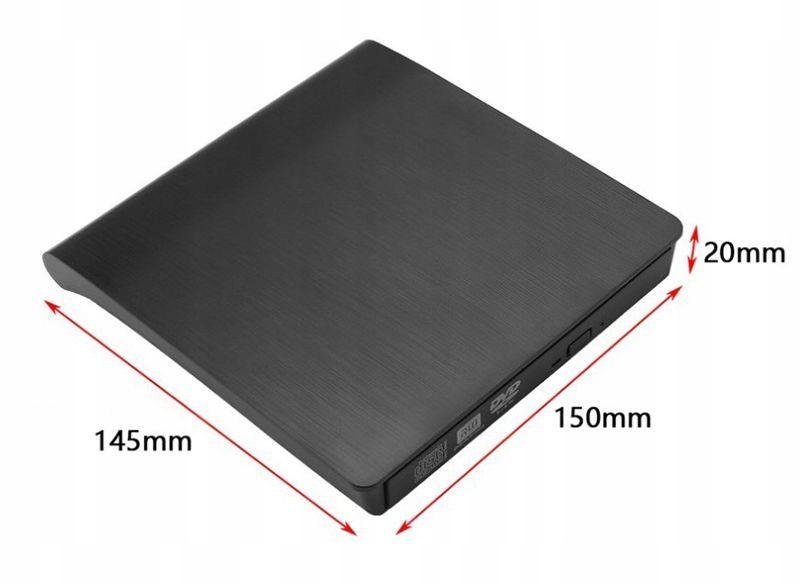 USB 3.0 NAGRYWARKA ZEWNĘTRZNA CD, CD-RW, NAPĘD DVD zdjęcie 7