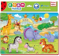 PUZZLE PIANKOWE A4 ZOO OD 3 LAT - ROTER KAFER