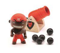 DJECO Pirat DJAMBO z armatą - Arty Toys