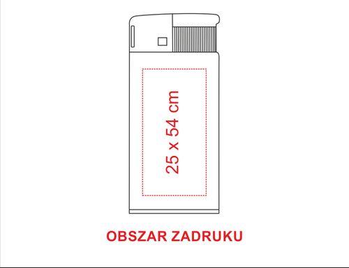 zapalniczka reklamowa firmowa z dwustronnym nadrukiem UV 50 szt na Arena.pl