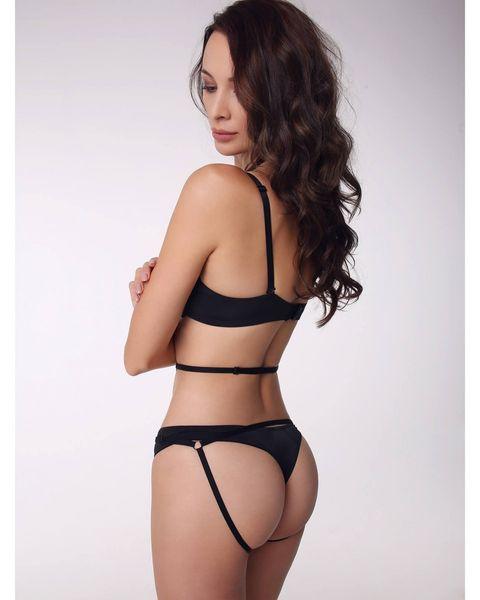 Promees Body harness PERLA uprząż na ciało Rozmiar - OneSize, Kolor - Czarny na Arena.pl
