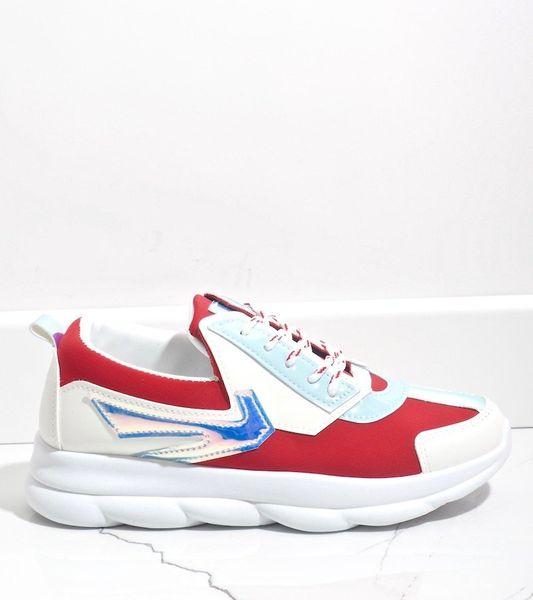 Białe sneakersy sportowe damskie W-3112 41 zdjęcie 2