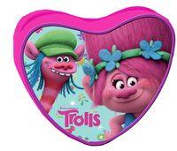 Torebka serce Trolls Licencja DreamWorks (094543)