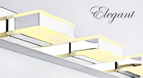 Lampa nad lustro Kinkiet łazienkowy LED 32 cm 8W na Arena.pl