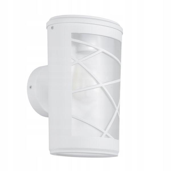 Lampa Ogrodowa Biała Ścienna Kinkiet 36 cm 60W E27 zdjęcie 1