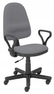 Fotel biurowy BRAVO szary OBROTOWY Halmar