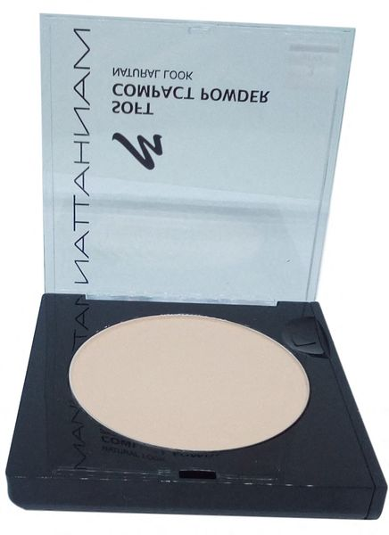 MANHATTAN Soft Compact puder beżowy nr 3 beige na Arena.pl