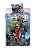 Pościel Licencyjna Avengers 140x200 + 70x90cm
