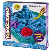 Piasek kinetyczny Kinetic Sand  - podwodny świat + foremki 454g niebieski