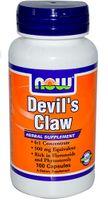 Diabelski pazur Devil's claw 500mg 6:1 ekstrakt 100 kapsułek NOW FOODS