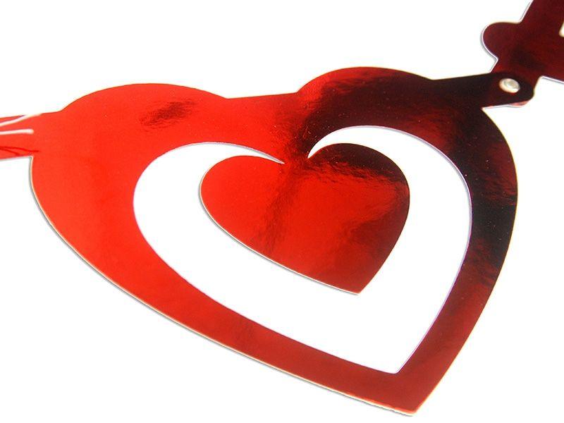 Baner Walentynkowy, na walentynki 160cm zdjęcie 3