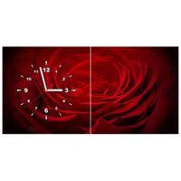 ZEGAR  Róża dla ukochanej 80x40