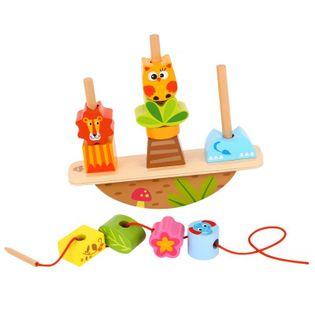 Tooky Toy Układanka Balansująca Zwierzęta