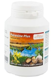 PARASINE PLUS 100 kaps. pasożyty toksyny MITRA