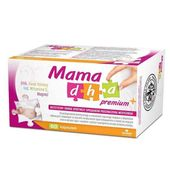 MamaDHA Premium Plus 60 kapsułek - Długi termin ważności!