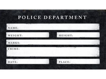 Tabliczka do fotobudki Aresztowany Ślub Wesele