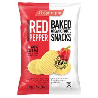 Chipsy Ziemniaczane o Smaku Paprykowym Bio 85 g - McLloyds -Cibi