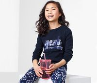 TCHIBO Sweter z cekinami 122-128 cm, 7-8 lat 7-8 lat
