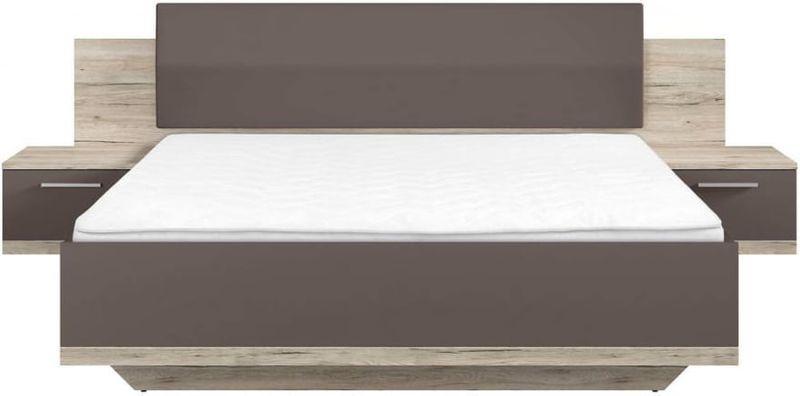 łóżko Sypialniane 180x200cm Dwuosobowe Lines Brw