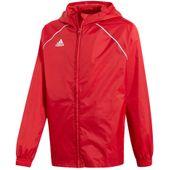 Kurtka przeciwdeszczowa męska adidas Core 18 Rain JR czerwona CV3743 140cm