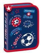 Piórnik jednokomorowy dwuklapkowy Bambino Football